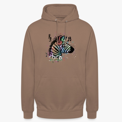 Colour designed zebra, Cbra Systems - Unisex Hoodie