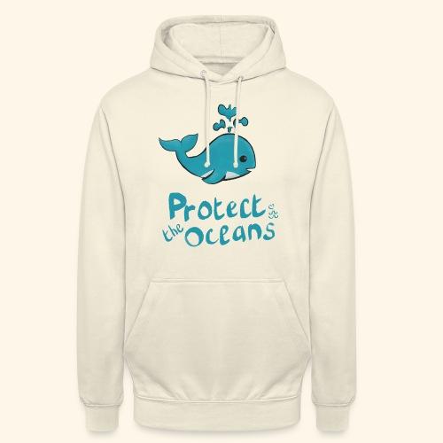 Protèges les océans - Sweat-shirt à capuche unisexe
