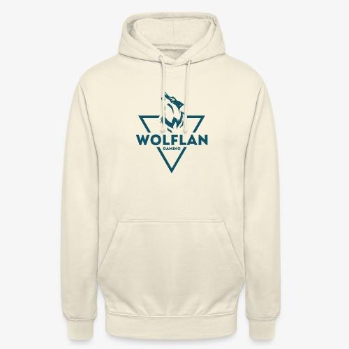 WolfLAN Logo Gray/Blue - Unisex Hoodie