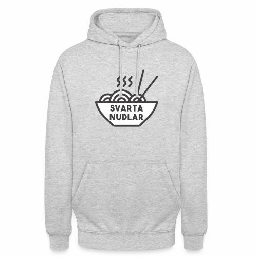 Svarta Nudlar - Unisex Hoodie