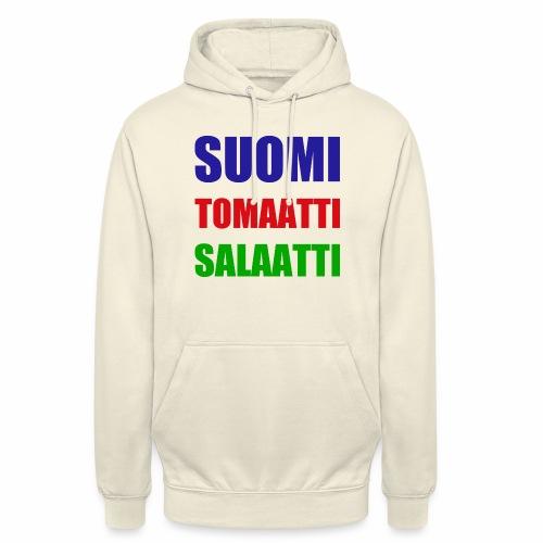 SUOMI SALAATTI tomater - Unisex-hettegenser