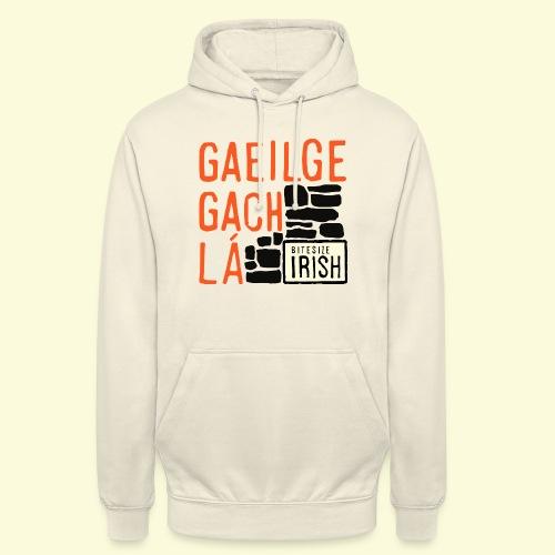 Gaeilge Gach Lá - Unisex Hoodie