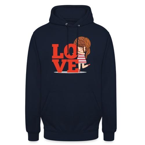 Love gamine - Sweat-shirt à capuche unisexe