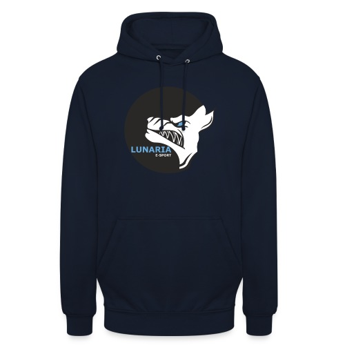Lunaria_Logo tete pleine - Sweat-shirt à capuche unisexe