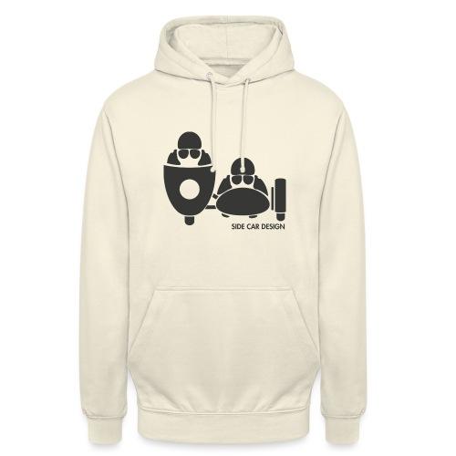 BASSET LOGO - Sweat-shirt à capuche unisexe