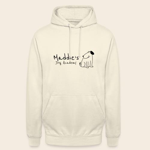 Académie des chiens de Maddie (noir) - Sweat-shirt à capuche unisexe
