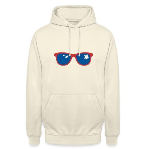 POP ART - Stars and glass - Sweat-shirt à capuche unisexe