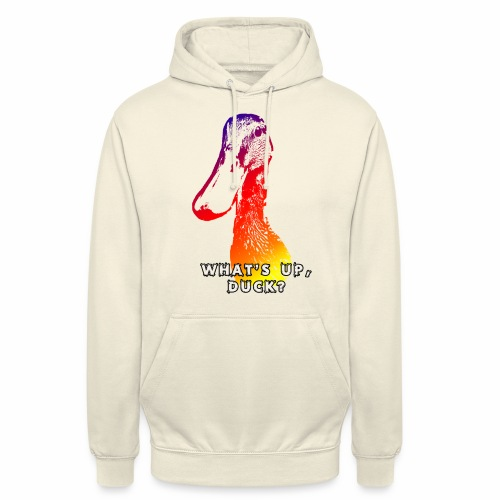 what's up duck - Color - Unisex Hoodie