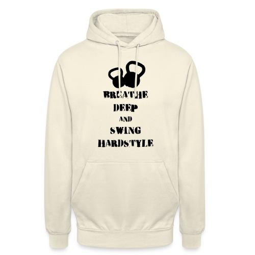 Kettlebell Breathe - Bluza z kapturem typu unisex
