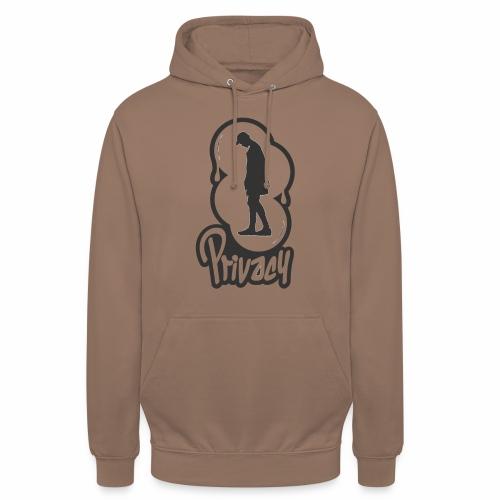 Privacy V2 - Sweat-shirt à capuche unisexe