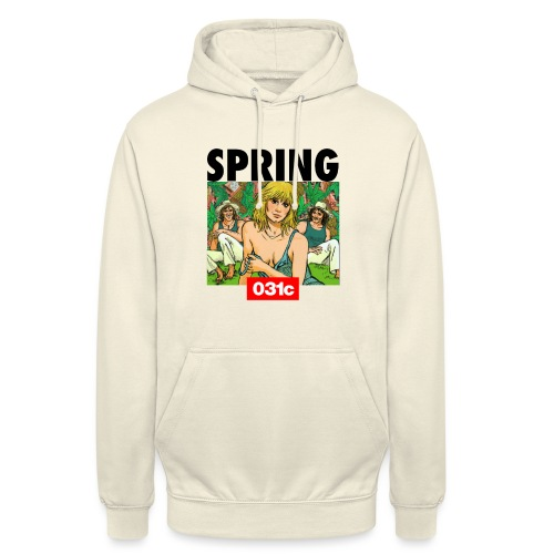 spring - Sweat-shirt à capuche unisexe