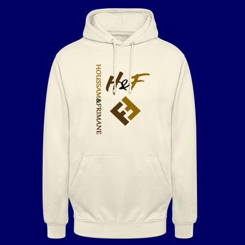 h&F luxury style - Felpa con cappuccio unisex