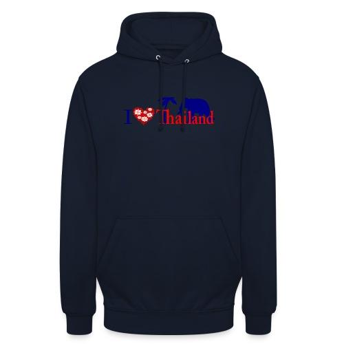 I love Thailand - Unisex Hoodie