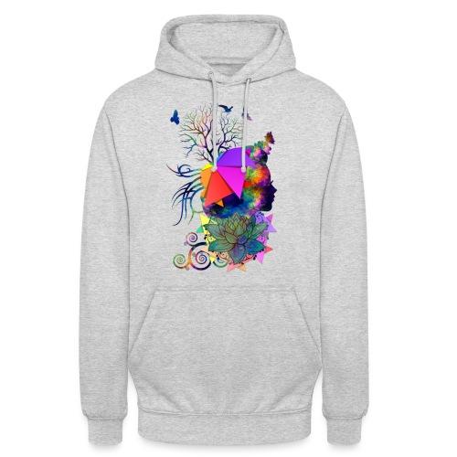 Lady Colors by T-shirt chic et choc - Sweat-shirt à capuche unisexe