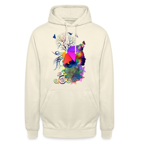 Lady Colors by T-shirt chic et choc - Sweat-shirt à capuche unisexe