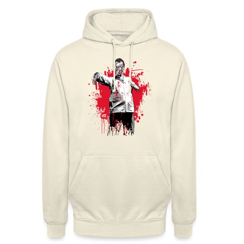 zombie - Sweat-shirt à capuche unisexe