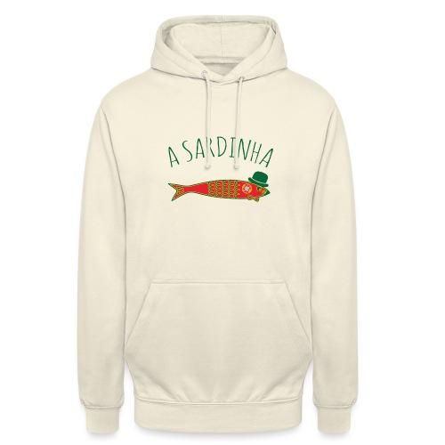 A Sardinha - Bandeira - Sweat-shirt à capuche unisexe