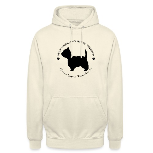"West highland white terrier - Huppari ""unisex"""