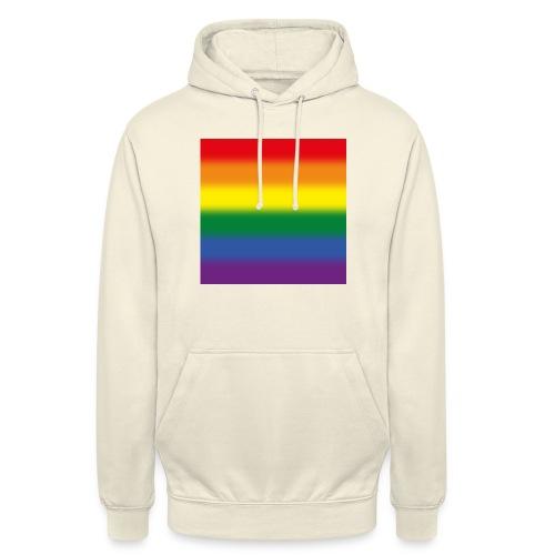 Verschwommene LGBT Flagge - Unisex Hoodie