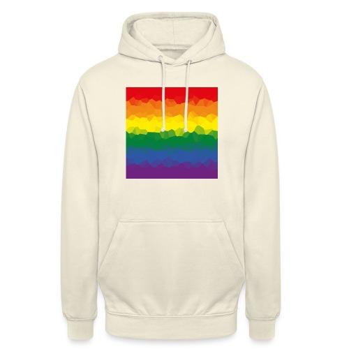 LGBT Flaggen Mosasaik - Unisex Hoodie