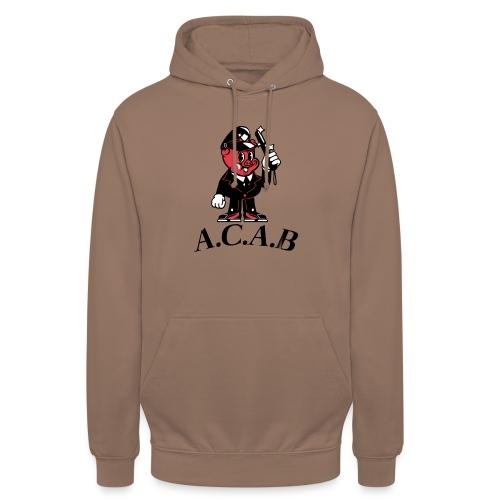 A.C.A.B cochon - Sweat-shirt à capuche unisexe