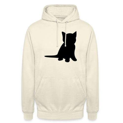 kleine Katze - Unisex Hoodie