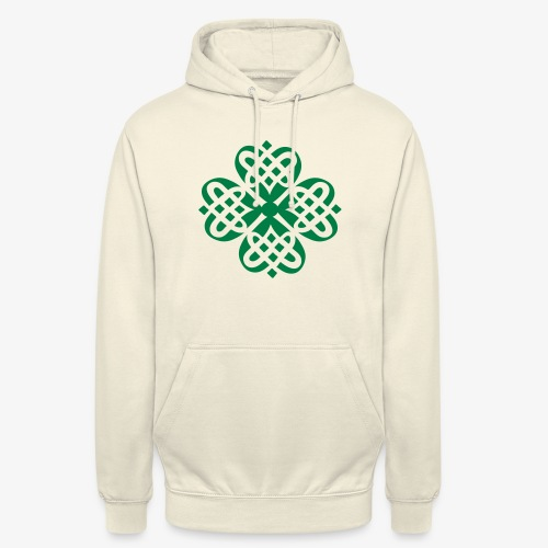 Shamrock Celtic knot decoration patjila - Unisex Hoodie