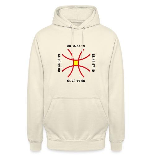 TIAN GREEN - Anti Corona Symbol - Unisex Hoodie