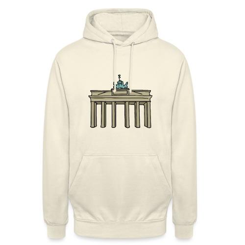 Brama Brandenburska BERLIN c - Bluza z kapturem typu unisex