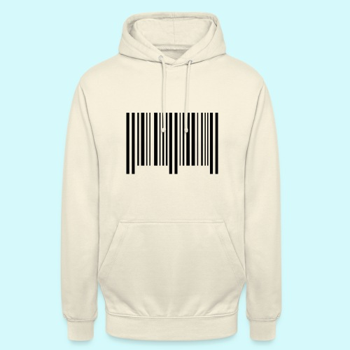 barcode - schwarz - Unisex Hoodie