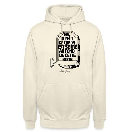 Les Sardines - Sweat-shirt à capuche unisexe