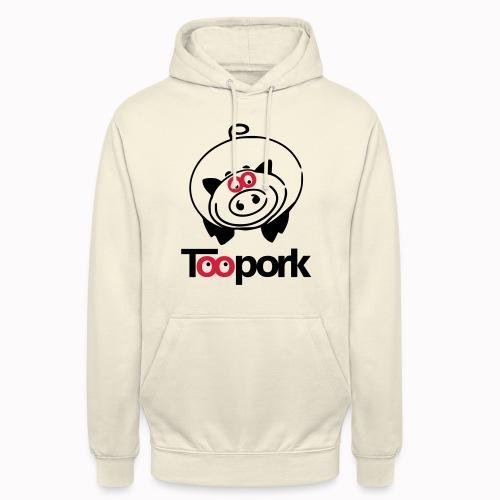 toopork2 - Felpa con cappuccio unisex