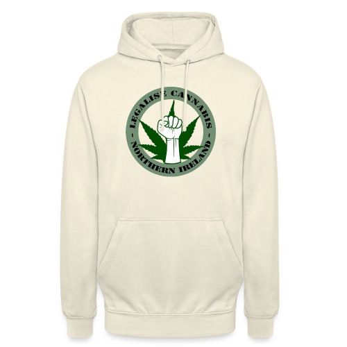 Legalise Cannabis - Northern Ireland - Unisex Hoodie