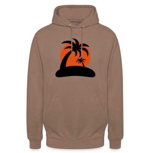 palm island sun - Hoodie unisex