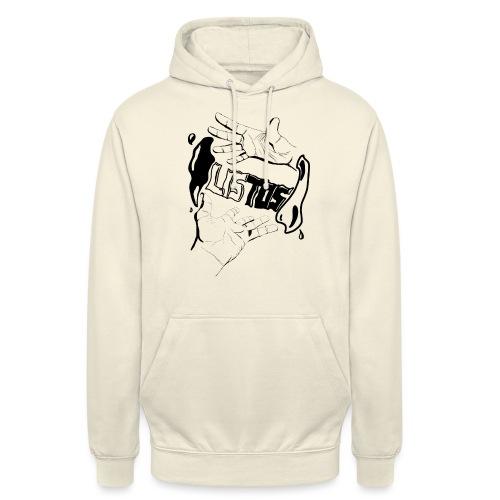 Cristal levitation - Sweat-shirt à capuche unisexe