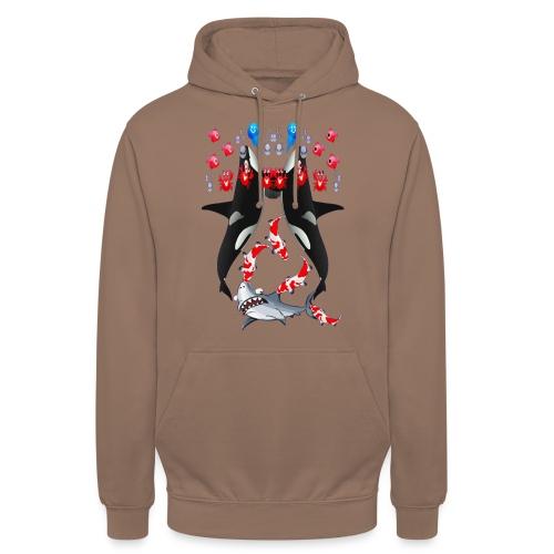 Sea Party - Sweat-shirt à capuche unisexe