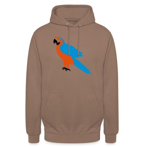 Parrot - Felpa con cappuccio unisex