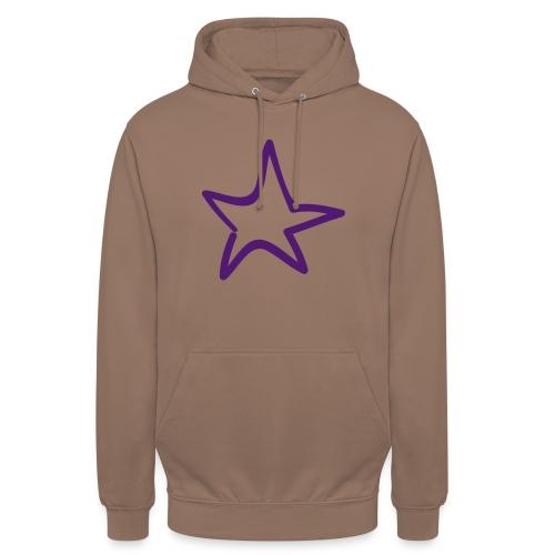 Star Outline Pixellamb - Unisex Hoodie
