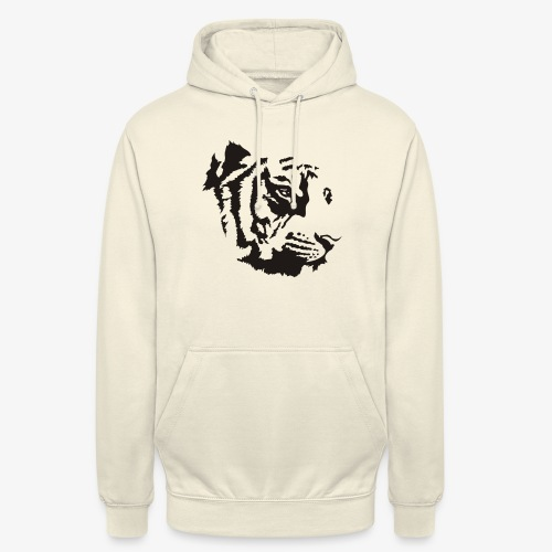 Tiger head - Sweat-shirt à capuche unisexe