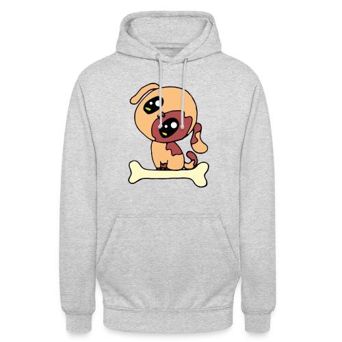 Kawaii le chien mignon - Sweat-shirt à capuche unisexe