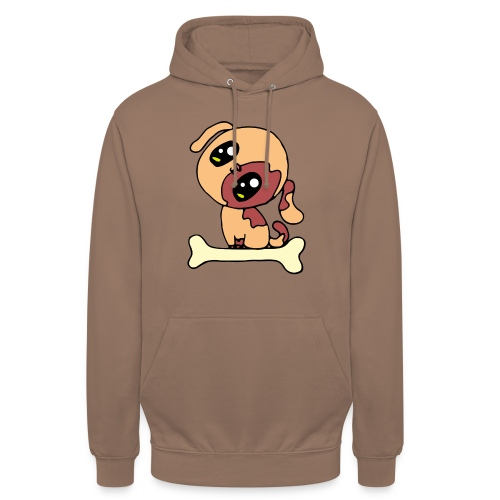 Kawaii le chien mignon - Sweat-shirt à capuche unisexe