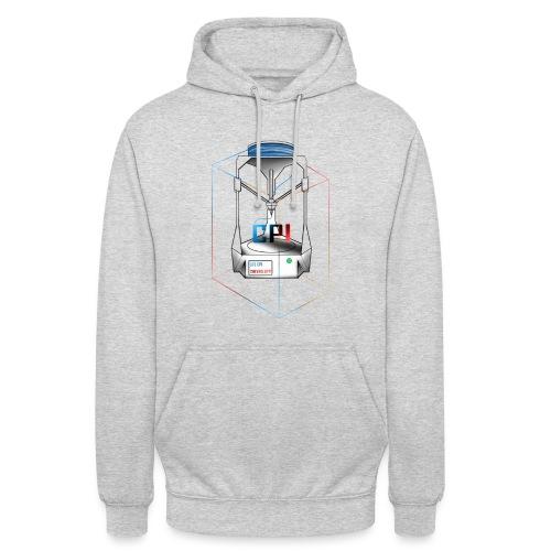 New Logo CPI - Sweat-shirt à capuche unisexe