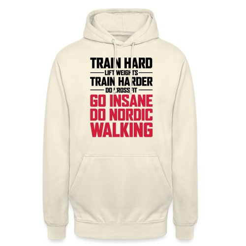 "Nordic Walking - Go Insane - Huppari ""unisex"""