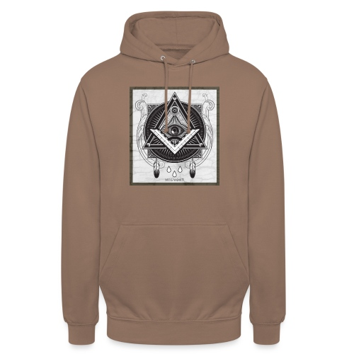 Illuminati - Sweat-shirt à capuche unisexe