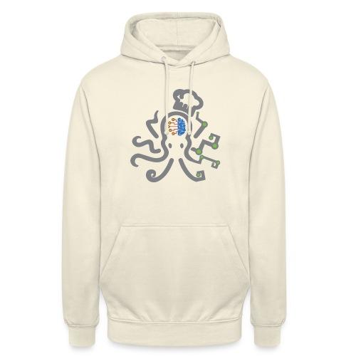 DT3 Octopus - Grey - Unisex Hoodie