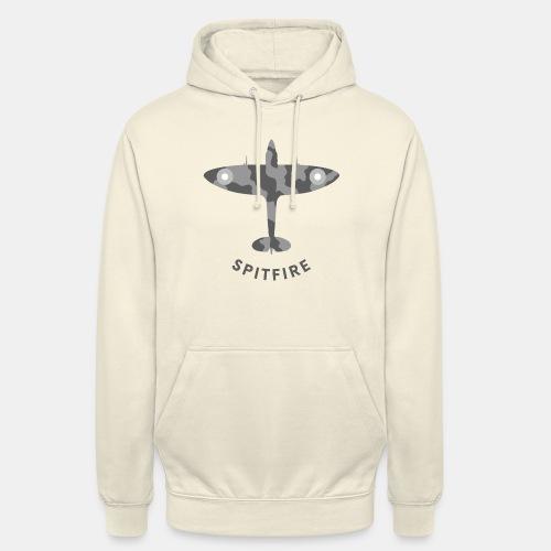 Spitfire fighter plane - Unisex Hoodie
