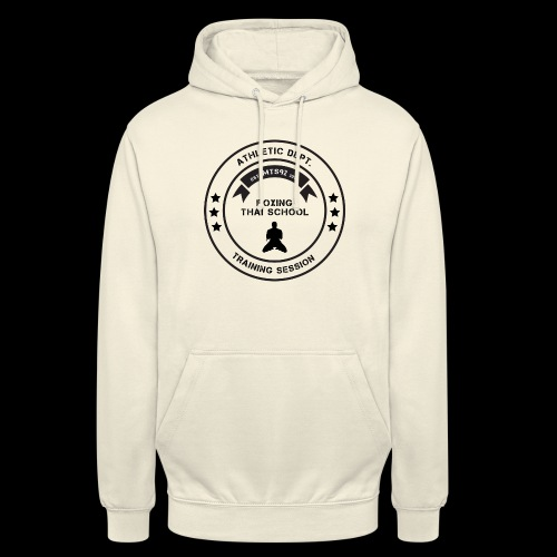 MTS92 BOXING THAI SCHOOL ROND - Sweat-shirt à capuche unisexe