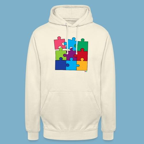 Puzzle Fun Motive - Unisex Hoodie
