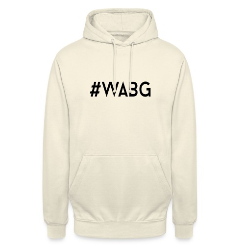 WABG ZWART png - Hoodie unisex