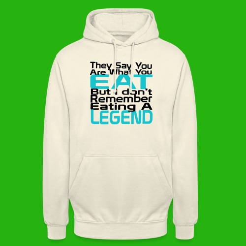 You Are What You Eat Shirt - Unisex Hoodie